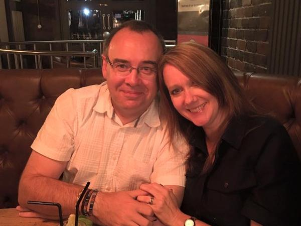 Tracy & Richard from Worcester, United Kingdom