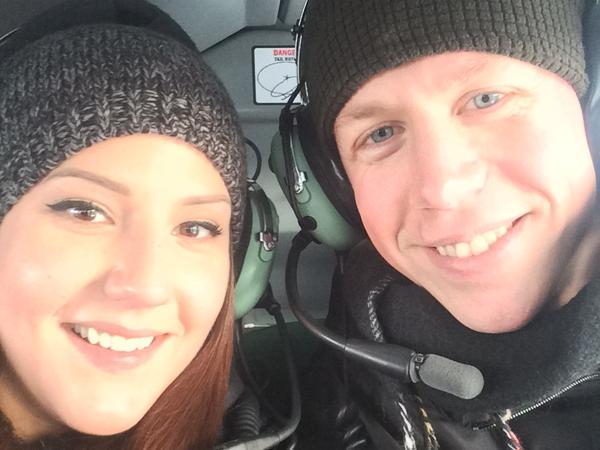Lisa & Josef from Edmonton, Alberta, Canada