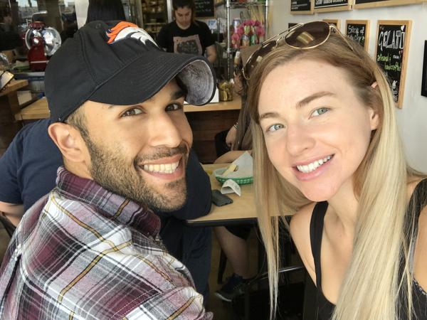 Abed & Shawna from Laguna Beach, California, United States