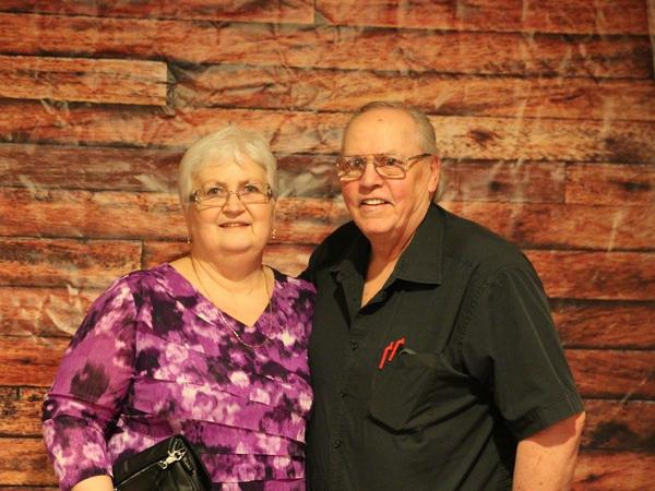 Rose & Les from Westlock, Alberta, Canada