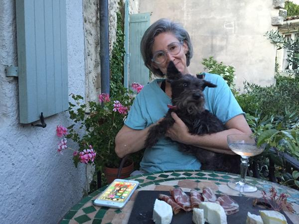 Schnauzer sitter in the lovely town of UzèsFrance
