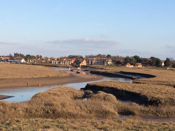 Look after Sally in Burnham Overy Staithe