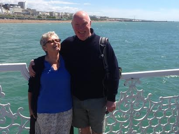 Barry & Gloria from Tavistock, United Kingdom