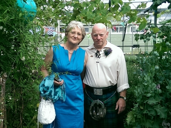 Alison & Steve from Edinburgh, United Kingdom