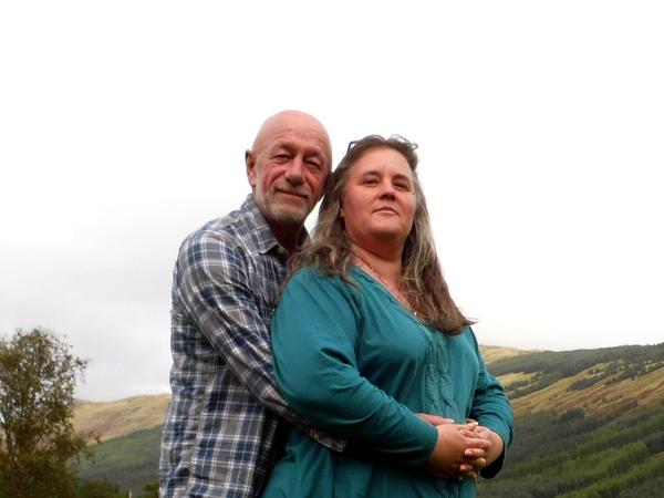 Natalie & Keith from Killin, United Kingdom