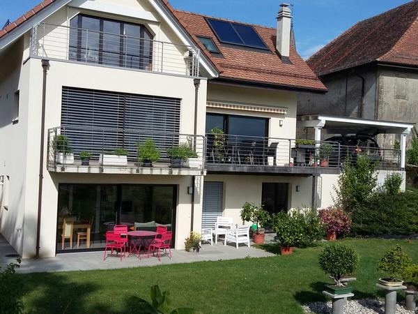 Housesitting assignment in Lavigny, Switzerland