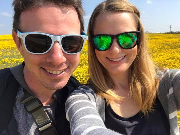 Stephanie & Sam from Tel Aviv, Israel
