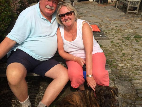 Terry ann & Robin from Virginia Water, United Kingdom