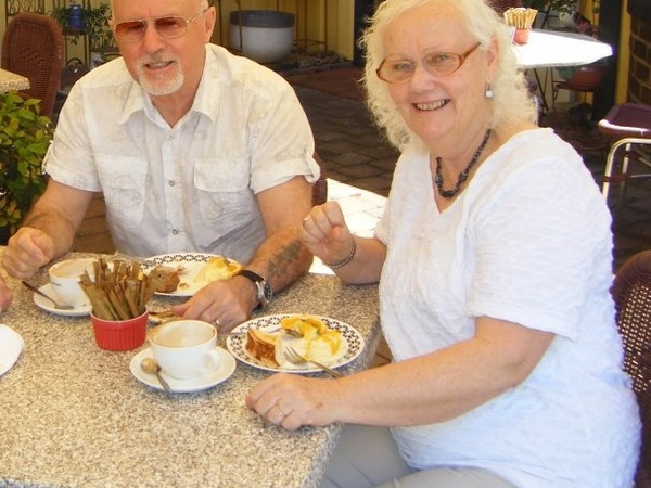 Tony & Lyn from Christchurch, New Zealand