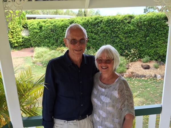 Bronwyn & Ian from Wentworth Falls, NSW, Australia