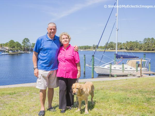 Simon & Penny from New Bern, North Carolina, United States