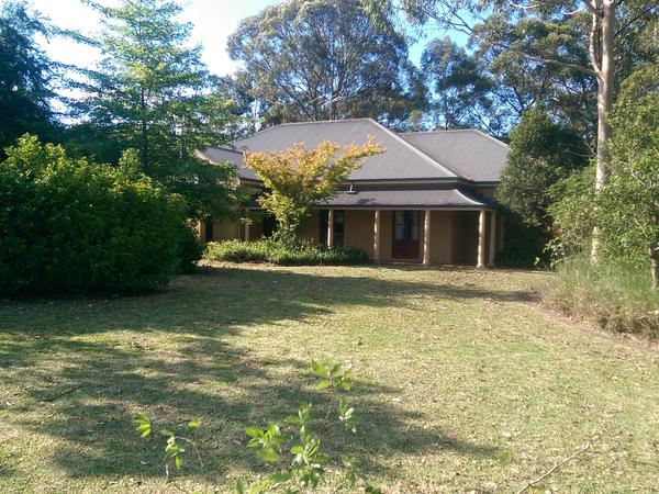 Housesitting assignment in Warragamba, New South Wales, Australia