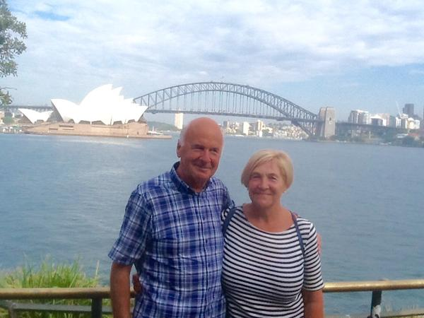 Delia & Jim from Ruthin, United Kingdom