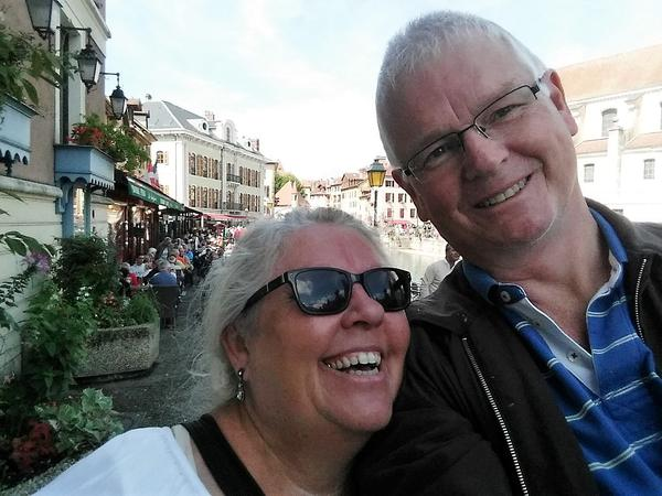 Wendy & Bill from Gouzon, France