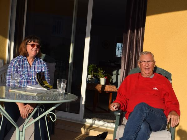 Jane & Harald from Girona, Spain