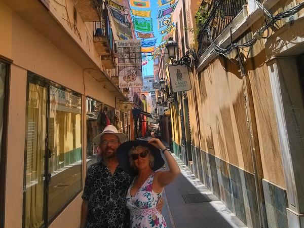 Jacqueline & Andrew from Évora, Portugal