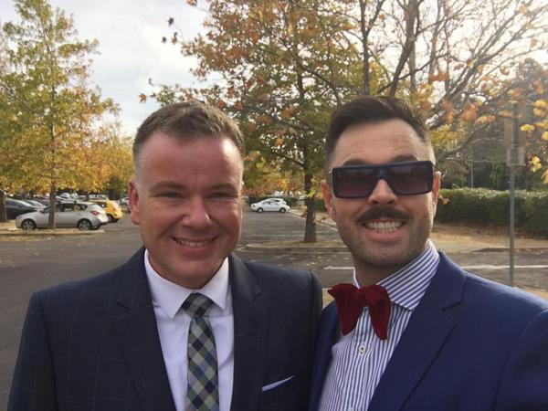 Calen & Matt from Canberra, ACT, Australia