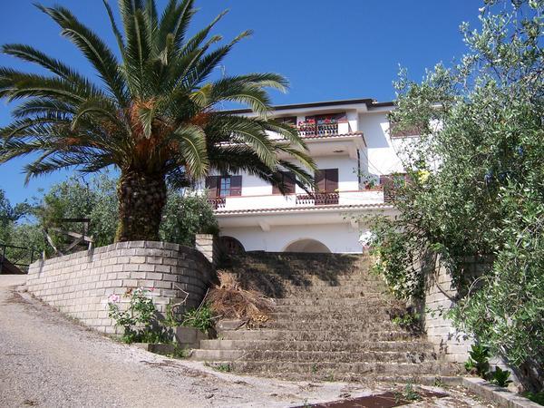 Villa in Roman countryside