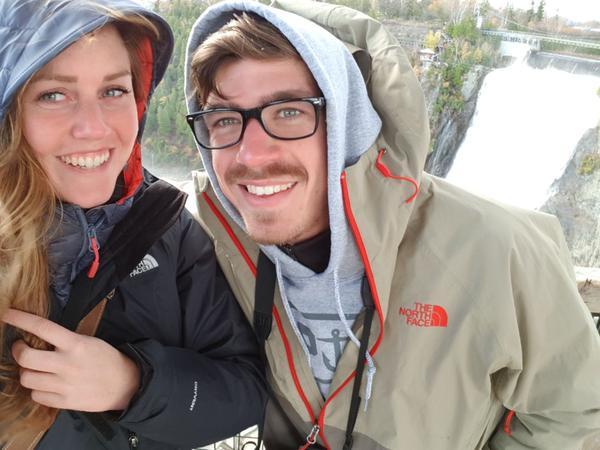 Lisa-valerie & Mathis from Hantsport, Nova Scotia, Canada