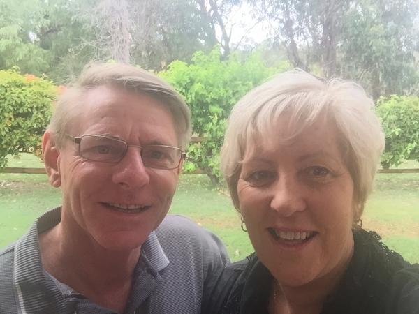 Cheryl & andy from Australind, WA, Australia