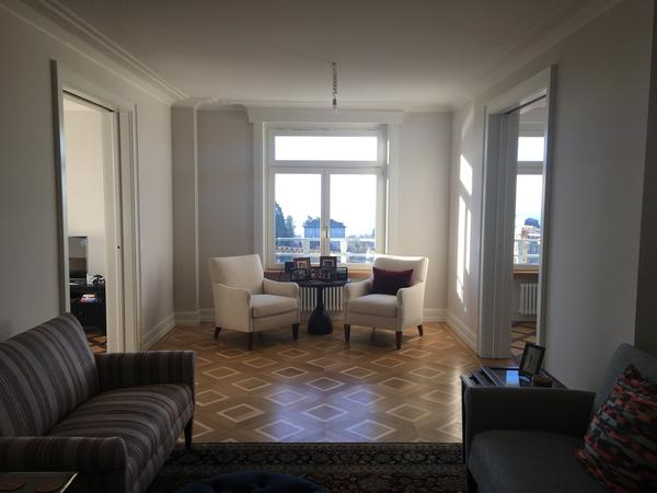 Housesitting assignment in Lausanne, Switzerland