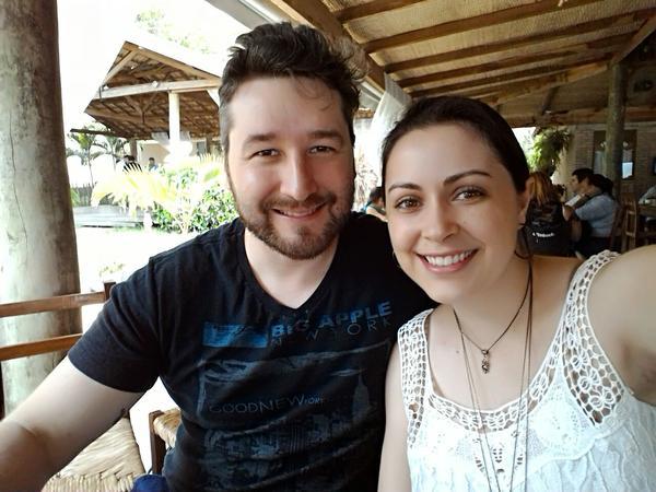 Aline & Mauro cesar from La Spezia, Italy