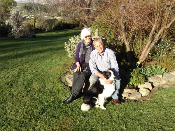 Vivien & Gordon from Dunedin, New Zealand