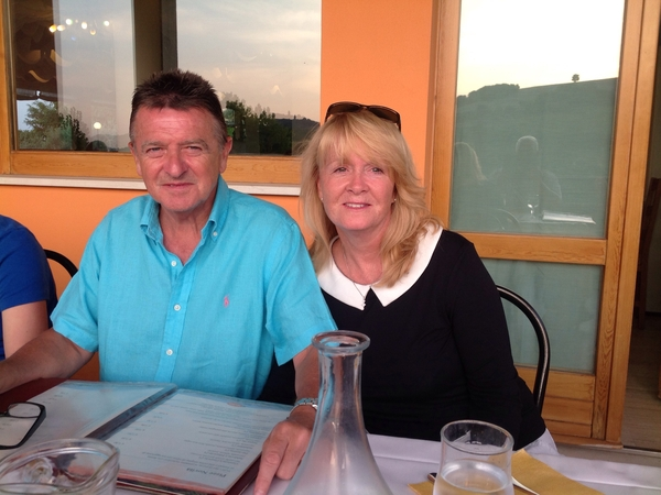 Carol & Stephen from Faversham, United Kingdom