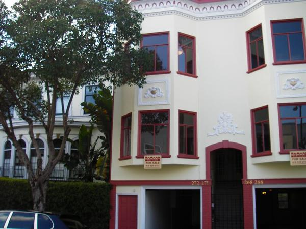 Great location in Inner Mission with one lovable cat