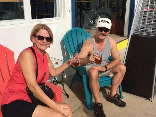 Carol & Bruce from Lunenburg, Nova Scotia, Canada