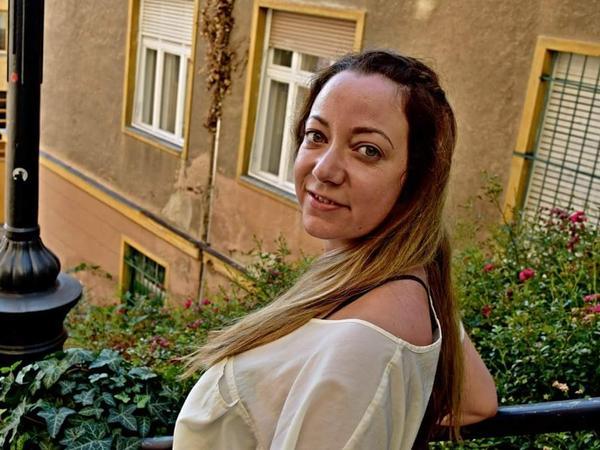 Krisztina from Budapest, Hungary