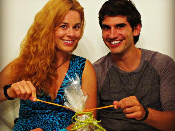 Barbora & Russell from Prague, Czech Republic