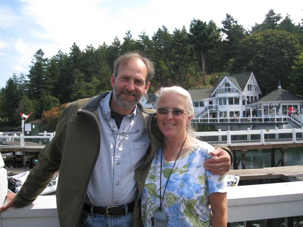 Barbara & fred & Fred from Friday Harbor, WA, United States