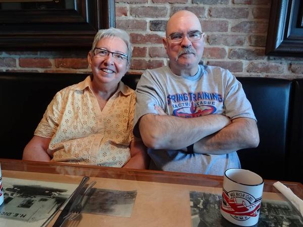 Terence   &   geraldine & Geraldine from Winnipeg, MB, Canada
