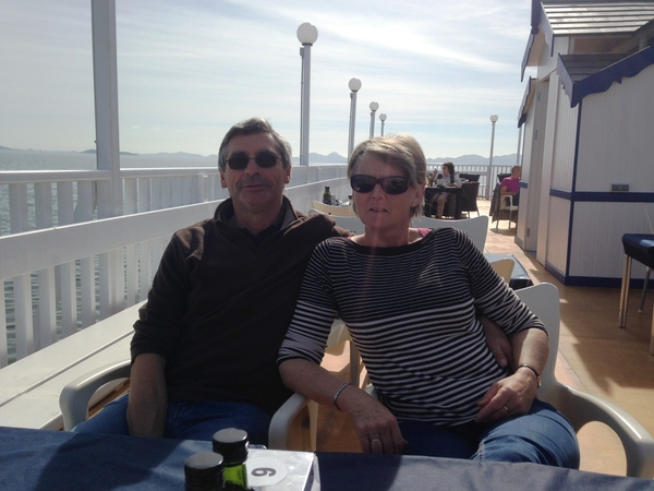 Liz and richard & Richard from Truro, United Kingdom