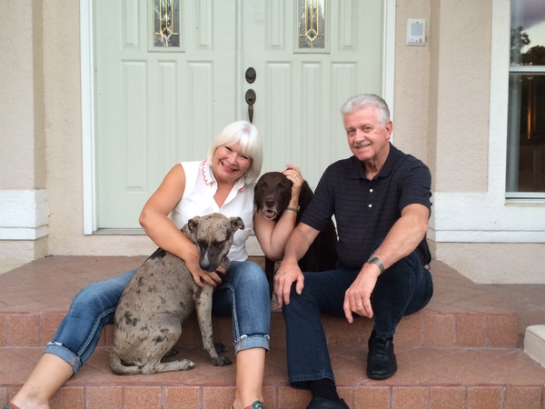 Lise & Jim from Orlando, Florida, United States