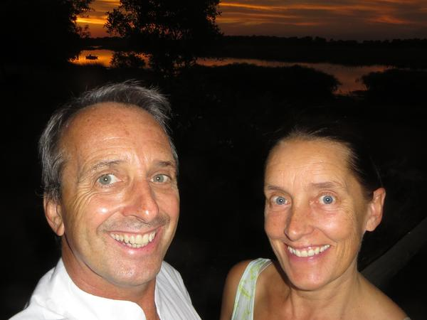 Deborah & Steve from Maun, Botswana