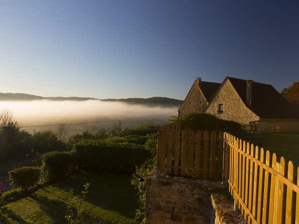 Christmas and January in The Dordogne region of South West France