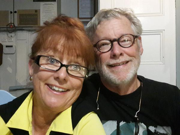 Lindsay & Dorwin from Paraparaumu Beach, New Zealand