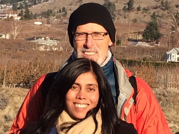 Philip & Lata from Toronto, ON, Canada