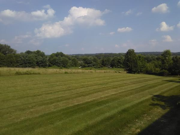 Doylestown townhouse with Bucks County view