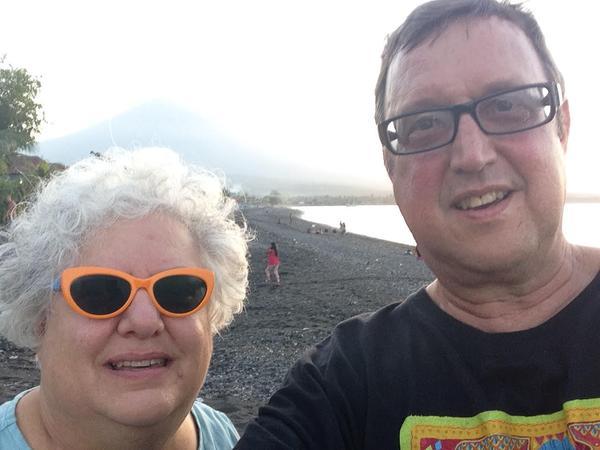 Kelly & Maria from Santa Rita Village, Guam