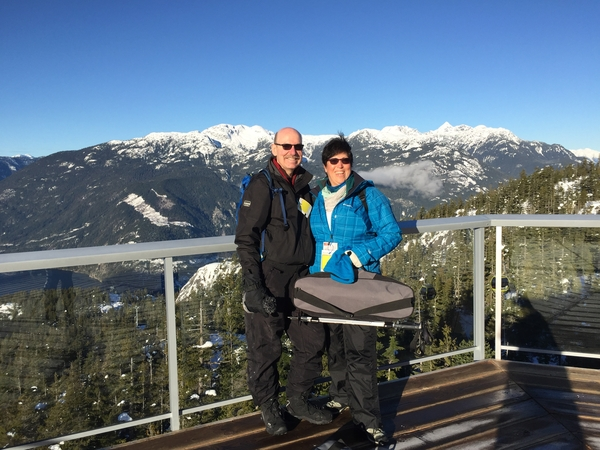 Normand & Beth from Mission, BC, Canada