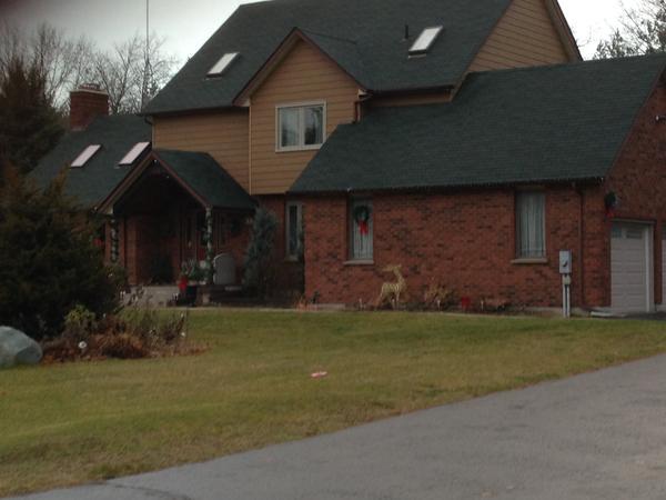 Housesitting assignment in Pontypool, Ontario, Canada