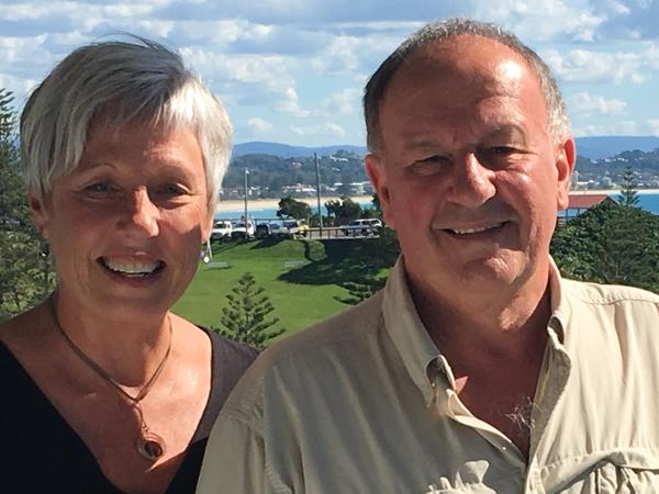 Sue & Peter from Mosgiel, New Zealand