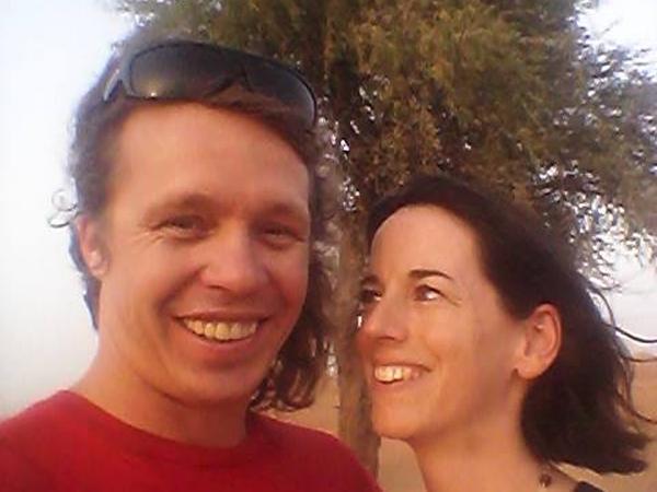 Leigh & Rhys from Christchurch, New Zealand