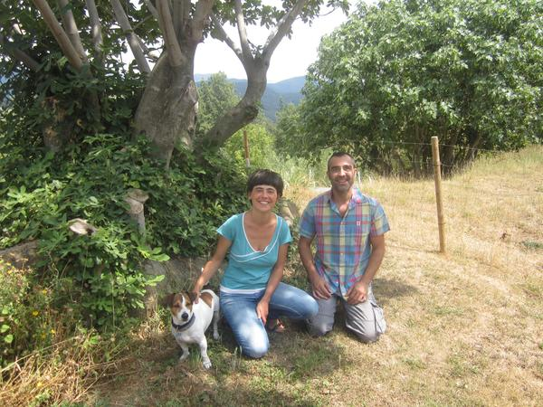 Beatriz & Jordi from Olot, Spain