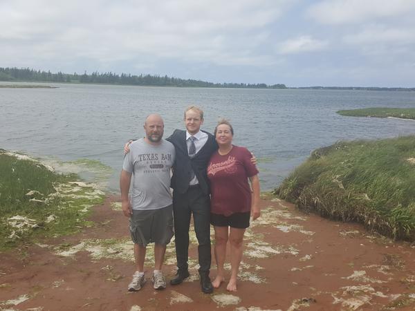 Elizabeth & Andrew from Kensington, Prince Edward Island, Canada
