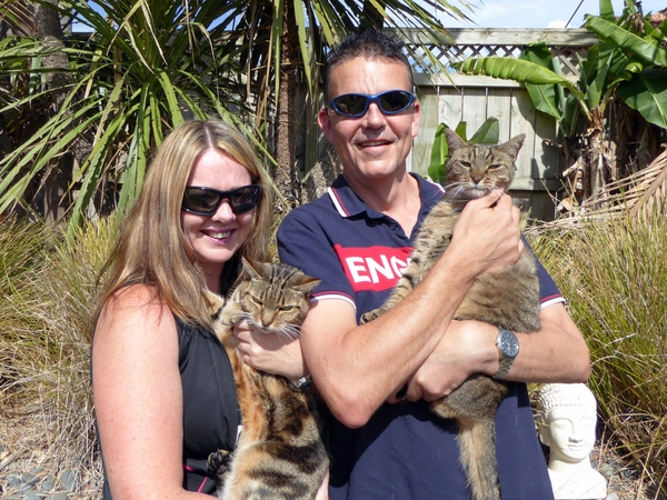 Stephen & Sheree from Auckland, New Zealand