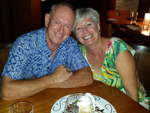 Kym & Paul from Kailua-Kona, Hawaii, United States